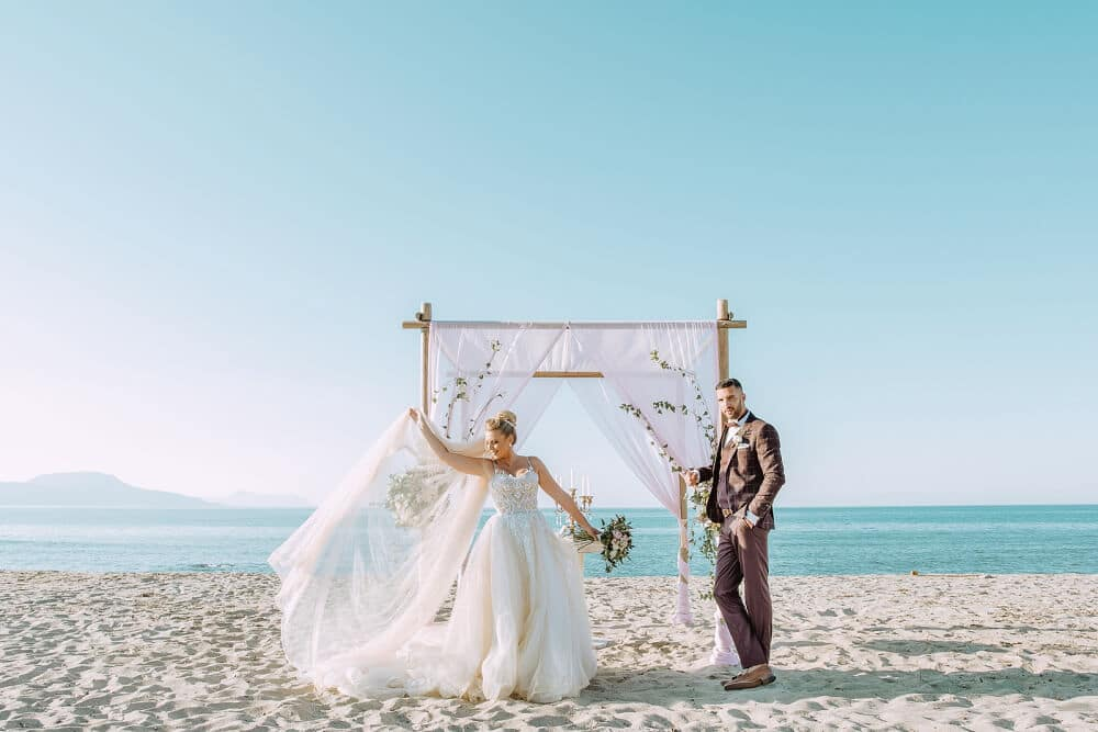 Beach Wedding Stepsis Wedding Planner Crete Greece