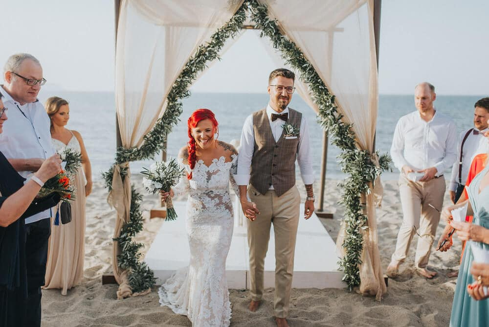 Beach Wedding Stepsis Wedding Planner Crete Greece