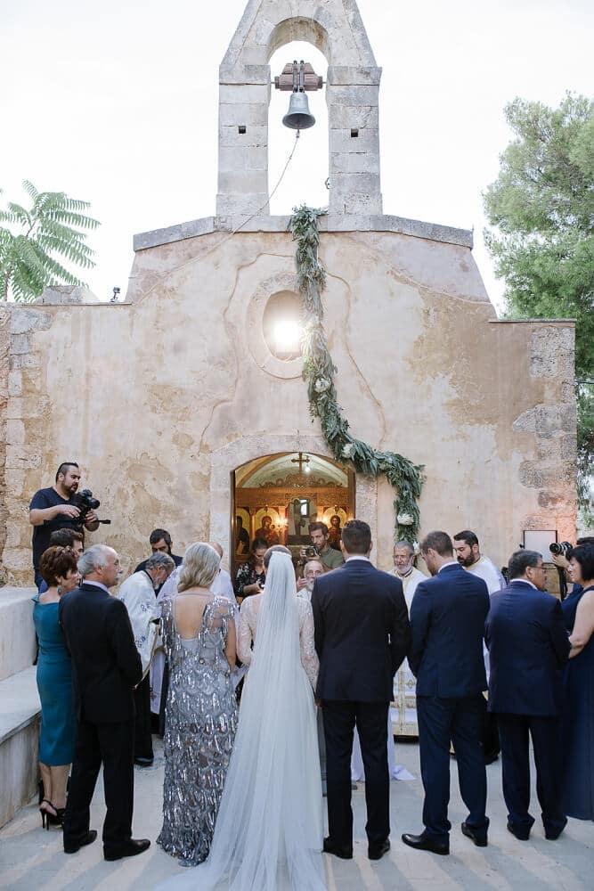 Stepsis Wedding Planner Crete Greece - Orthodox Church Weddings
